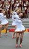 Img284890nx2 (veryamateurish) Tags: london trafalgarsquare cheerleaders band usc universityofsoutherncalifornia girl woman miniskirt