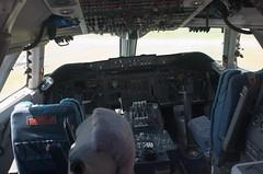 Boeing 747 Cockpit (AperturePaul) Tags: netherlands airplane nikon cockpit boeing747 lelystad aviodrome d7000