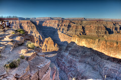 Open Your Eyes And Hold Your Breath (manuelm) Tags: sunset people canon river landscape eos high amazing day grandcanyon canyon clear canon5d canoneos altura skywalk imageoftheday grandcanyonskywalk 5d2