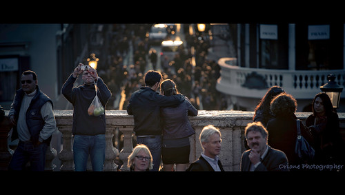 Rome at our feet --- (Explore #1) (Orione Photographer) street people urban italy laura rome canon photography italia bokeh candid streetphotography cinematic explore1 5dmarkii orione1959 orionephotographer ef70200f40isl