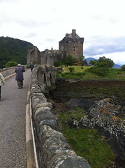 Approaching Eilean Donan castle (Cinematic Scotland) Tags: castle film movie scotland highlands scenery holidays tour scottish disney merida pixar animation brave tours vacations eileandonan disneypixar dunbroch
