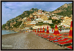 "Bella Positano (NaturaLite's ""SnapDecisions"") Tags: italy beach nikon amalficoast positano d700 photogene flickrtravelaward"