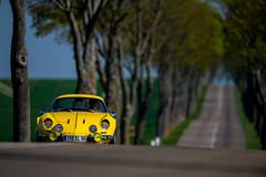 Renault Alpine (Guillaume Tassart) Tags: road france classic yellow vintage automotive renault alpine legend