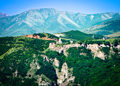 Tatev in the middle