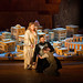 Eva-Maria Westbroek as Dido, Bryan Hymel as Aeneas and Barbara Senator as Ascanius in Les Troyens © Bill Cooper/ROH 2012