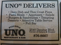 UNO Pizza 1994 (frankasu03) Tags: las vegas yellow restaurants pizza uno page 90s defunct listings franchises