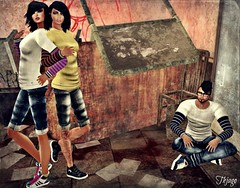 ..:: OUTFIT 29 ::.. (NyTrO StOrE) Tags: street urban woman man store mesh wear clothes hip hop styel nytro