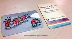 Ladybird Business Cards 2012 (Hi Ni) Tags: art illustration graphicdesign artist designer joke humour ladybird ladybug illustrator custom businesscard cardgame personalised forkids mailer memorycards characterdesign promotionalmaterial forchildren roundedcorners moocards moobusinesscards moocom greetingcarddesign childrensbookillustrator artistpromo illustratorforhire forlicense artistbusinesscard childrensbookdesigner