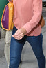 Katie Holmes steps out without her wedding ring after an early-morning shop at Whole Foods supermarket in Manhattan's Chelsea New York City, USA