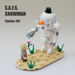 S.A.F.S. Snowman (ted @ndes) Tags: lego system suit fighting 3000 vignette armored mecha mak mech krieger moc mercenary maschinen hardsuit safs dieselpunk mechsuit