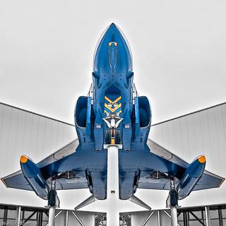 F-4 Phantom II - mirrored