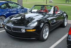 North Star BMW CCA Picnic - 01 (bmw328driver) Tags: usa black cars car minnesota parkinglot picnic bmw goldenvalley mn cca northstar z8 northstarchapter bmwcca carclub