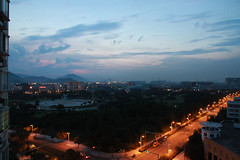(nanosun) Tags: sunset landscape flickr day cloudy share wenzhou