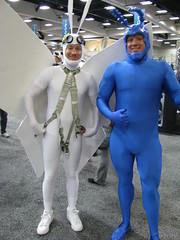 Arthur and The Tick (Vegas PG) Tags: san diego comiccon comicon 2012 sdcc vegaspgcosplay