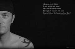 Keeper of the Faith (Razorbacks) Tags: tattoo germany creativity bayern deutschland bavaria 50mm nikon d cap terror mm nikkor 50 kreativ 7000 kreativitt nikkor50mm creativ keeperofthefaith d7000 nikond7000 mygearandme