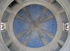 Bramante's Tempietto, dome interior