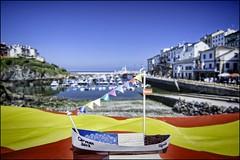 Puerto. TAPIA DE CASARIEGO. ASTURIAS (Germn Yanes) Tags: espaa puerto spain fiesta asturias el carmen carmentapiamuellepuerto