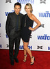 Ben Stiller, Christine Taylor Los Angeles premiere of 'The Watch' held at The Grauman's Chinese Theatre Hollywood, California