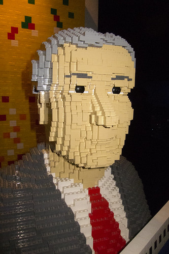 From flickr.com: George W. Bush in lego {MID-113324}