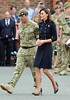 Catherine, Duchess of Cambridge aka Kate Middleton The Duchess of Cambridge presents operational medals to the Irish Guards in Windsor at Victoria Barracks. London, England