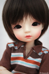 Close-up Eiri (Arisuyuki) Tags: boy cute asian doll body innocent bjd dollfie eiri spiritdoll dollmore yosd babylamb eirien babylambmiadoll miasbabydollaga dollmoreaga