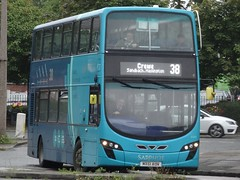 Crewe (Andrew Stopford) Tags: mx61aun vdl db300 wright 2dl arriva sapphire crewe