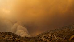 Santa Clarita, CA (Matthew Takata) Tags: wildfire smoke fire santaclaritamountains california zeiss50mmf14zf2 zeiss planar zf2 nikond600