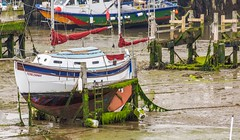Terezamay (manchesterblue59) Tags: teresa may prime minister scarborough boat low tide