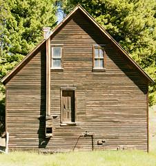 Wood House (BradPerkins) Tags: abandonedtown ghosttown ghost montana abandoned abandonedbuilding garnet