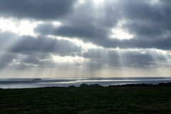 IMG_3922 (Claudia Phillips Photography) Tags: picturesque cornwall sea sun polzeath calming sunrays reflection