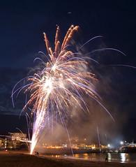 Fireworks 10 20160727 (Steve TB) Tags: broadstairs vikingbay beach sea fireworks canon eos5dmarkiii jetty bleakhouse