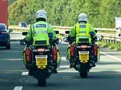 Photo of DG16 JRU/JSY - BMW R1200 RT's - Cheshire Constabulary RPU Traffic Bikes.