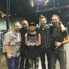 Via Zach: Started this band in 1996 .... Disbanded in 2002.... Only played 3 shows since then .... Everyone of them was magical .... Welcomed 2 new ones along the way .... Thanks for everything .... #ZMB @garrettdrums76 @clydeacorn #JoeBoogie #mo #ZachMye (ShinedownsNation) Tags: shinedown nation shinedowns zach myers brent smith eric bass barry kerch
