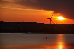 Sonnenuntergang bei Kopperby Art Look (Knipser31405) Tags: sonnenuntergang schlei 2016 frhjahr kopperby schwansen
