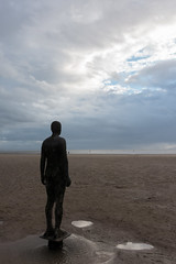 Another Place (tik_tok) Tags: sirantonygormley sculpture statue anotherplace art artist beach figure ocean sea landscape seascape england crosbybeach