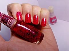 Correnteza - Beauty Color + Glamorous - Impala. (Raíssa S. (:) Tags: esmalte unhas nails nailpolish naillacquer red vermelho cremoso glitter beautycolor impala