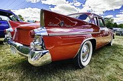 1959 Studebaker Silver Hawk (hz536n/George Thomas) Tags: deeracres silverhawk 2016 cs5 canon canon5d ef1740mmf4lusm hdr michigan pinconning studebaker summer carshow copyright linwood nik upnorth