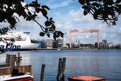 Cityscape (Maria Eklind) Tags: eriksberg majorna gothenburg gteborg reflection adolfedelsvrdsgata sweden outdoor boats spegling water gtalv vstragtalandsln sverige se