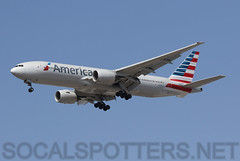 N794AN (SoCalSpotters) Tags: n794an socalspotters b772 klax lax aal americanairlines losangeles boeing777