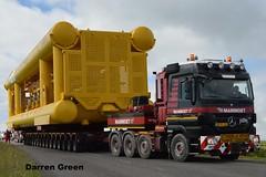 MAMMOET MERCEDES ACTROS TITAN 4165 650 V8 BZ-XL-22 (denzil31) Tags: mammoet heavy haulage transport mercedes actros titan 4165 650 v8 8x4 stgocat3 towheads 220t subsea 7 caithness heavyhaulage