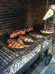 Steaks and fish at Elkano Restaurant (houstonfoodie) Tags: asador basquecountry beef fish getaria gipuzkoa kokotxas spain turbot euskadi es