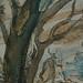 CHASSERIAU Théodore,1840 - Diane et Actéon, Etude (drawing, dessin, disegno-Louvre RF24456) - Detail 17