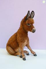 Donkey_1 (kdc123) Tags: donkey furred breyer custom ooak chestnut miniature