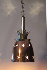 Misc Hanger 4 (pat-works.com) Tags: lamp olympia pat tassoni patworks patworkscom portland ray gun recycled parts seattle space needle ufo upcycled atomic radioactive midcentury retro rocket tv jetsons available star trek raygun wars steampunk brass copper pentagram starburst