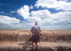(Exi5tenceTwistr) Tags: longexposure verylongexposure waltononthenaze clouds cloudtrails sea leepolariser leebigstopper surreal
