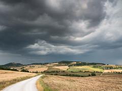 Storm on Monticchiello (Di_Chap) Tags: italie valdorcia storm tuscany monticchiello