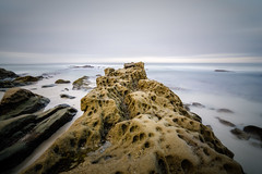 Serene sea (R*Pacoma) Tags: windansea beach sandiego california water sand rocks sky ocean pacific meanstacking longexposure nikon d7100 tokina 1116 nd1000 ice