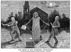 The Ghost In The Methodist Churchyard (The Truth Seeker, July 31, 1886) (michaelbettencourt) Tags: heston populist freethought freethinker methodism negro