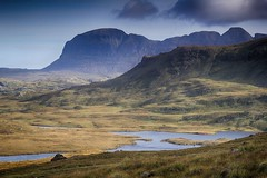 Assynt morning (OutdoorMonkey) Tags: suilven culmor culbeag assynt landscape moor moorland loch mountain mountainside hillside countryside outside outdoor nature morning