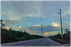 Camino a casa (Liborio58) Tags: atardeceres carreteras nubes